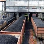 Išsijota pagal stambumą akmens anglis